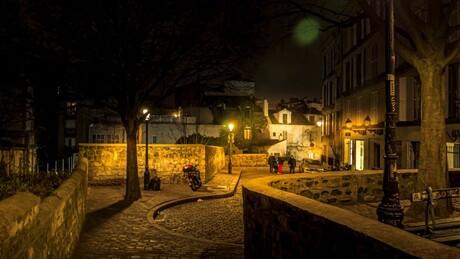 Les Parisiens - ruelle