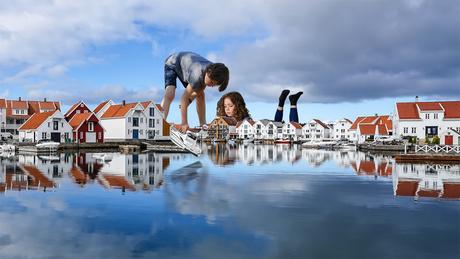haventje in Noorwegen