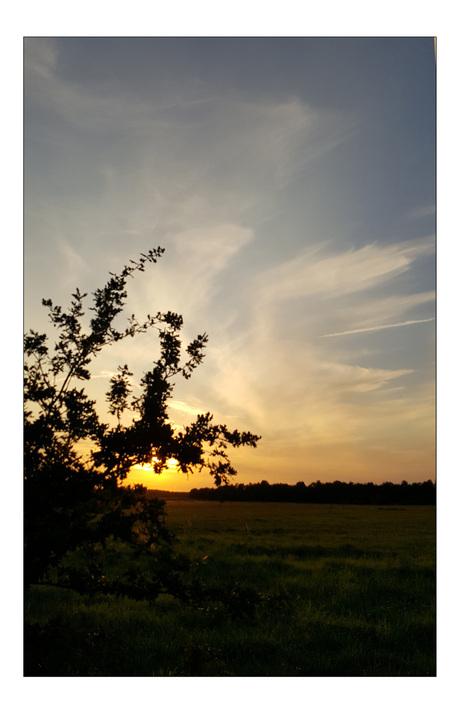 westerwolde 4 zonsondergang