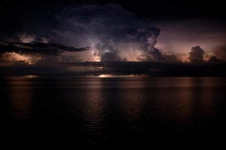 Onweer op de Oceaan