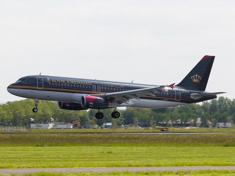 Airbus A320 Royal Jordanian