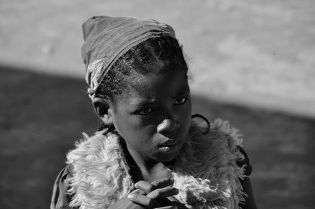 Mooi meisje in Madagaskar