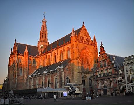 De grote st. Bavo kerk