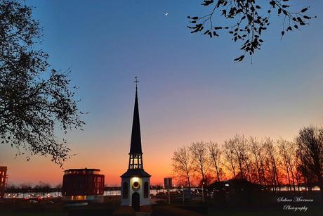 Zonsondergang Bergen op Zoom