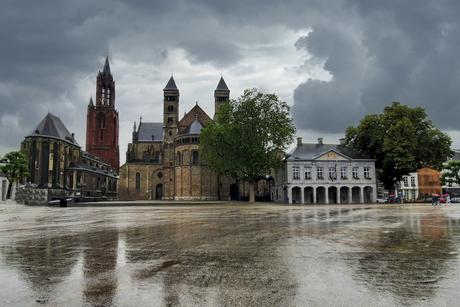 Regenachtig Maastricht