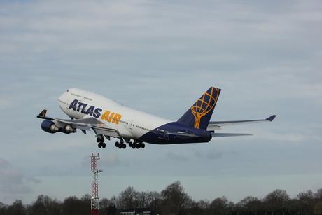 De Boeing 747 Atlas Air