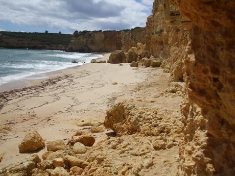 Algarve strand nabij Amacero de Pera
