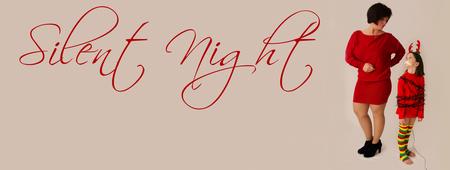 Silent night - Wij wensen iedereen een super fijne kerstdagen en een TOF 2013  xxx - foto door jackyduck op 23-12-2012 - deze foto bevat: portret, kind
