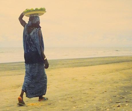 Gambia serie 1995 Fruitverkoopster