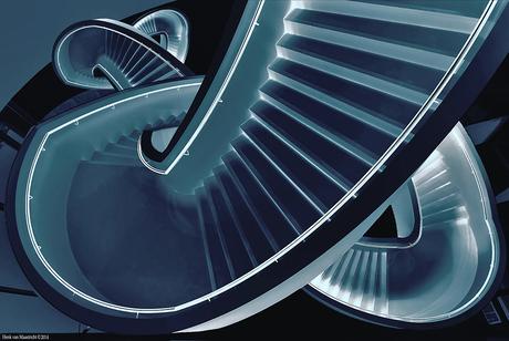 Blue-stair