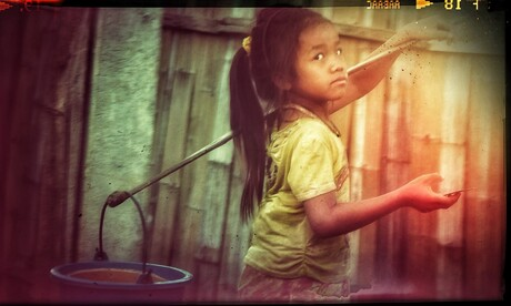Laos waterdragen