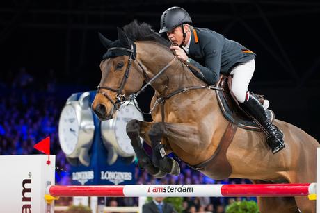 Jeroen Dubbeldam op Jumping Amsterdam
