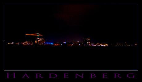 Hardenberg bij nacht