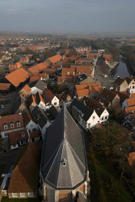 uitzicht toren Goedereede