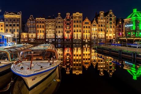 Amsterdam in rust