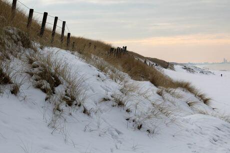 Verse sneeuw in januari 2013...13.30 uur.