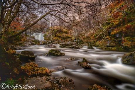 Falls of Falloch, Scotland