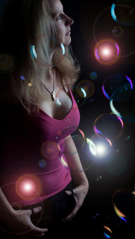 Dreamz2 - Model in dromen(bellen) land! - foto door dennis-53 op 03-10-2011 - deze foto bevat: bellen, bubbles
