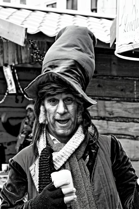 Mr Scrooge was present