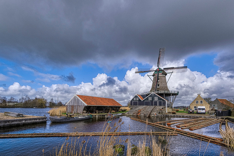 Molen de Rat in IJlst