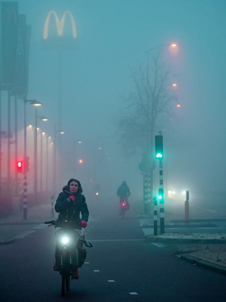 Mistige ochtend in Dukenburg 2