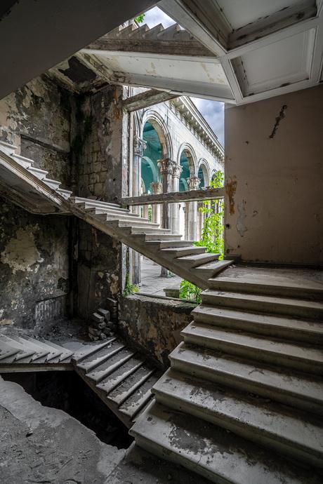 Hotel Medea's trappen