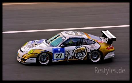Porsche GT3 op de Nürburgring