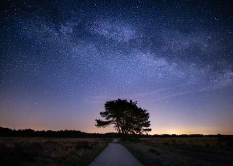 Melkweg boven Veluwe