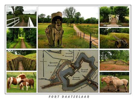 Fort Daatselaar - Fort Daatselaar maakt deel uit van de Grebbelinie en is gebouwd in de tijd van de Bataavserepublike 1795-1806 . In het gebied waar we op vakantie war - foto door Teunis Haveman op 27-06-2013 - deze foto bevat: renswoude, lunteren, scherpenzeel, grebbelinie, leusde, Fort-Daatselaar