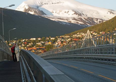 midzomernachtzon op Tromsoe