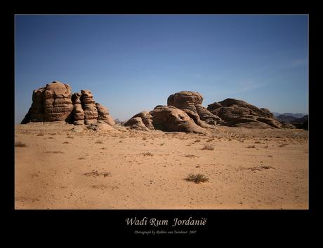 Wadi Rum (Jordanië).