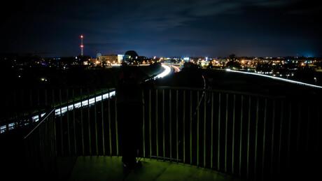 Spelen met de omgeving in het donker