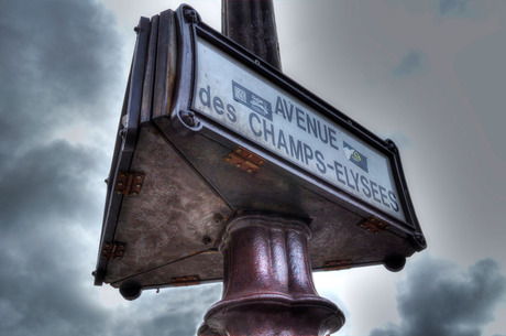 Avenue Champ Elysees Paris