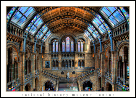 National History Museum London HDR