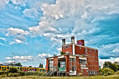 Oude bierbrouwerij te Hengelo
