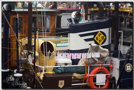 Negen dagen - Negen was handjes en maar een paar sokken aan de waslijn.. - foto door Sizzle op 27-08-2013 - deze foto bevat: shepen, haven., Sail Vlissingen