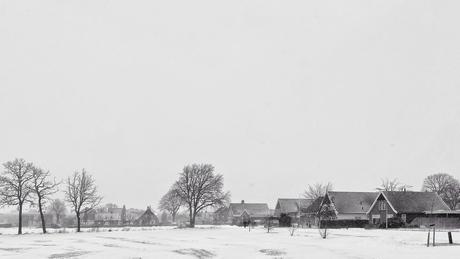Dorp in wintertjd