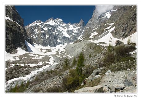 Glacier Noir in Nat. Park Les Écrins