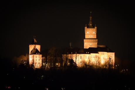 Schwanenburcht by Night
