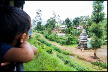 De trein van Kandy naar Ella (Sri Lanka)