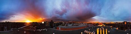 Storm vs zon