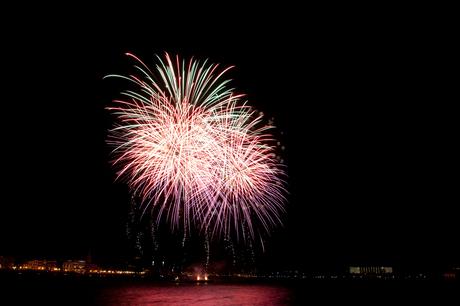 Vuurwerkshow Koninginnedag 2012
