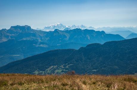 Gelaagde Mont Blanc
