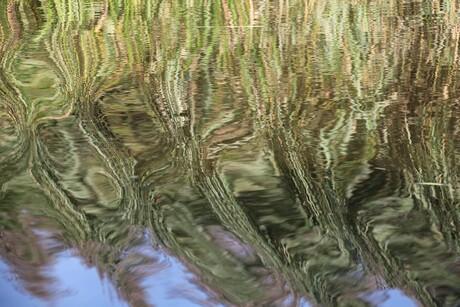 kleurig water