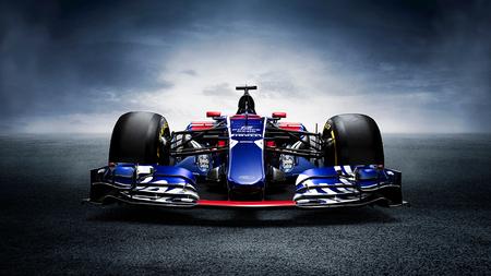 2017 Sainz F1 Toro Rosso STR12 - Je krijgt niet vaak de kans om een  F1-auto te fotograferen. Geweldig natuurlijk. Wat ontzettend veel coole ontwerpdetails heeft de Toro Rosso. De v - foto door Fotovanjeauto op 20-11-2020 - deze foto bevat: lucht, race, licht, bewerkt, landschap, vleugel, bewerking, voertuig, f1, contrast, photoshop, autosport, circuit, transport, hdr, creatief, asfalt, coureur, wallpaper, supercar, spoiler, autofotografie, bewerkingsopdracht, carbon, bewerkingsuitdaging, automotive, red bull, Formule 1, toro rosso, race circuit, auto fotografie, sainz, fdl technique, car fine art, red bull f1, str12, scuderia alphatauri, carlos sainz