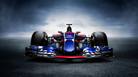 2017 Sainz F1 Toro Rosso STR12