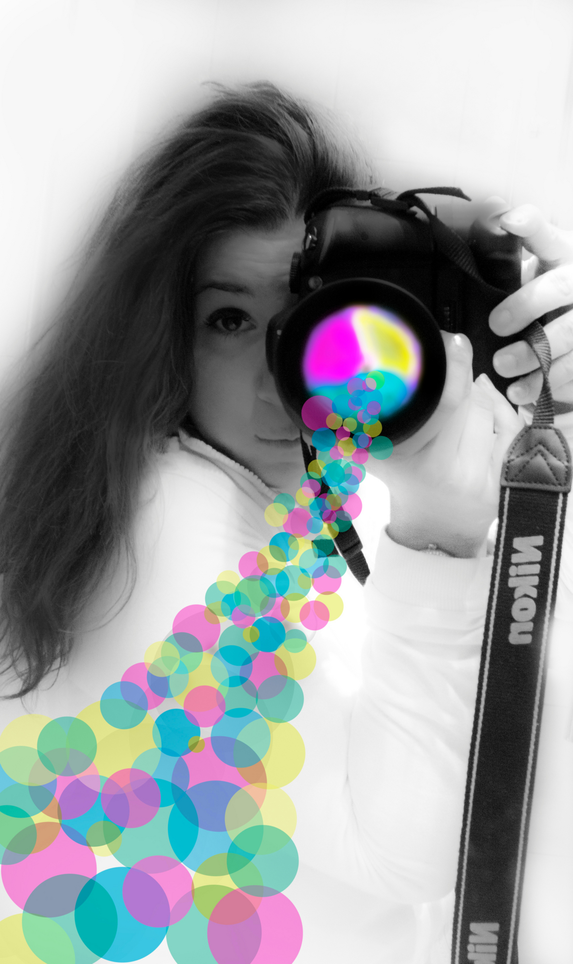 Magic camera - Magic cam - foto door Melani op 25-03-2013 - deze foto bevat: roze, kleur, wit, blauw, pink, zwart, blue, nikon