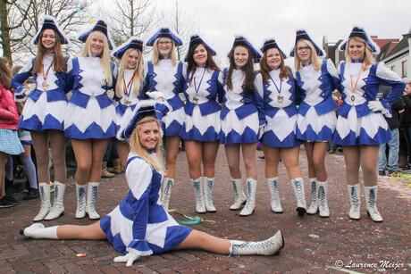 Dansmariekes Carnaval 2016