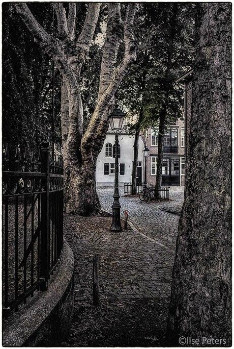 Nostalgisch straatje Den Bosch