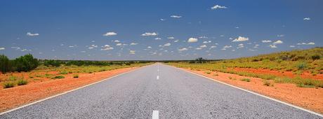 Weg door de Outback